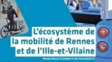 l'Agence d'urbanisme et de développement intercommunal de l'agglomération rennaise (AUDIAR) vient de publier un diagnostic sur l'écosystème de la mobilité de Rennes et de l'Ille-et-Vilaine.