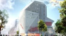Le bâtiment Identity I est l'un des trois constituant l'îlot Paul-Féval, imaginé par l'agence d'architecture Jean-Paul Viguier et Associés et érigé par le promoteur immobilier Groupe Giboire.