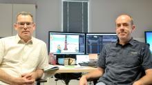 Laurent Paqueteau (à droite) le fondateur d'o2o s'est associé à  Christophe Caous, directeur