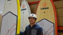 Installée depuis quatre ans à Plérin, One Kin, dirigée par Sylvain Aurenche (PHOTO) et  Erwann Rehault  a su imposer sa marque Lokahi sur le marché international
