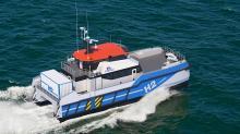 Les chantiers Piriou développent un CTV à propulsion hybride hydrogène