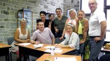 L'équipe de créativité de l'entreprise Plastobreizh à Auray