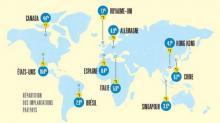 Implantation à l'international : les start-up, PME et PMI privilégient encore largement les Etats-Unis et l'Europe