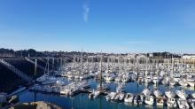 Port de Saint-Quay Portieux dans les Côtes d'Armor