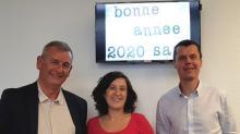 De g à droite : Jean-Louis Vanhee, Directeur général, Christelle Fleuroux en charge de la communication etet Richard Pinel, Gestionnaire de parc et Assurances