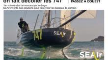 En janvier dernier, SEAir a fait voler un monocoque à un mètre au-dessus de l'eau, une première mondiale.