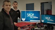 Patrick Maignan et Valentin Morvan, à la tête de 3SCV, créent une émission télé-achat pour soutenir le commerce local.