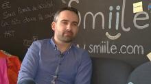 David Rouxel, PDG de Smiile, créée en 2014 à Saint-Malo