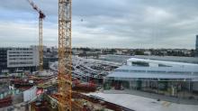 Les travaux de la gare de Rennes doivent s'achever en juillet 2018.