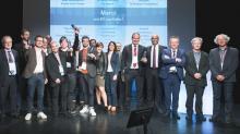 Les lauréats de la soirée:  Hoali à Saint-Brieuc (22), H2X à Saint-Malo (35), Equium à Saint-Herblain (44), Heyliot à Betton (35) et Athena Recherche et Innovation à Saint-Georges-sur-Loire (49).