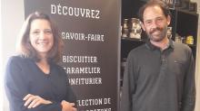 Solene Le pecheur et Franck Meuriot, respectivement , Responsable Qualité Sécurité Environnement et Directeur général chez  Brieuc