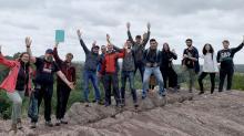 Toute l'équipe de Stirweld a participé, courant juin, à une éco randonnée dans  la zone naturelle du Moulin du Boël près de Rennes avec Renan Quellec guide-animateur au sein de l'association  Skol Louarn.