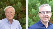 Pierre-Yves Divet, Président de Surfact'Green et Xavier Roussel, Directeur Général
