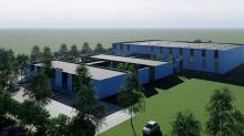 Le nouveau bâtiment de CIP Automation et FTCI s'étendra sur 3500 m2 dans le Parc d'Activité de La Tourelle à Lamballe