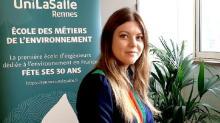 Héloïse Martin, marraine des 30 ans d'UniLaSalle Rennes
