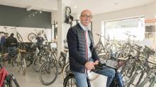 Fondateur du réseau Vélozen, Ronan Salaun ambitionne une croissance constante de 30% par an.