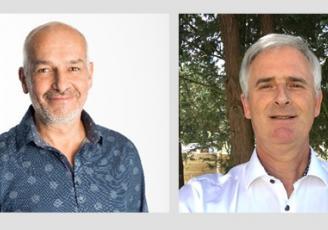 Philippe Loiseau et Jean-Pierre Lemonnier forment le nouveau binôme à la tête de l'antenne brétilienne de 60 000 Rebonds Grand Ouest