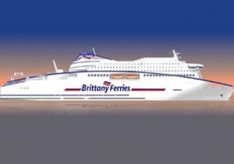 Le nouveau navire de la Brittany Ferries sera positionné en 2019 sur le trafic transmanche