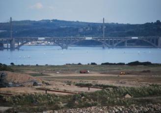 Le terminal EMR phase préparatoire du polder (archives 2013 Chall)