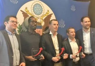 Les lauréats du Breizh Amerika startup contest 2017