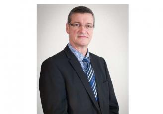 Hervé Le Floc'h, président du Crédit agricole du Morbihan