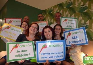 L'équipe Ara Hôtel, Landerneau