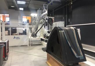 Avel Robotics développe le composite 4D
