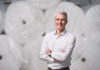Anthony Morin, dirigeant de BAM, spécialisé dans l'emballage industriel