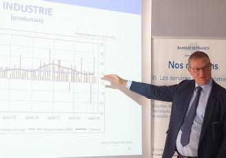 Hervé Mattei, Directeur régional de la Banque de France en Bretagne