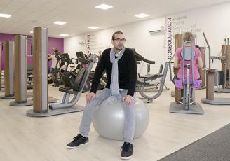 Nabil Hedjazi, gérant de l'Orange Bleue Wellness, conjugue sport et santé