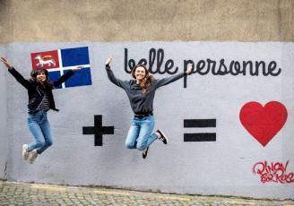 Plus récemment, en créant un mur participatif dans Saint-Malo intramuros, « Belle personne » a créé le buzz et fait parlé de la marque, il est vrai, un peu par hasard
