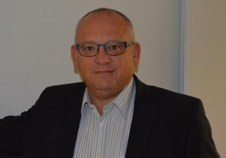 Benoit Cabanis, PDG de Socah Hydraulique dont le siège social est basé à Châteaubourg en Ille-et-Vilaine.
