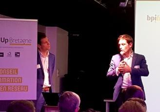 Bpifrance, la Région Bretagne et les 7 Technopoles ont présenté hier à Rennes  Boost'Up Bretagne
