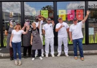 Une nouvelle boulangerie Ange  à Saint-Malo a ouvert ses portes le 8 juillet