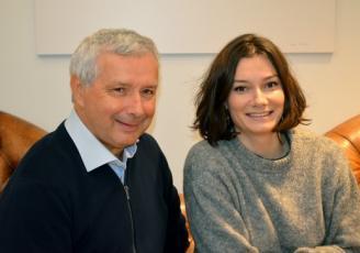 Didier et Lou Gorneau sont à la tête du Groupe rennais  Brilhac, cabinet en patrimoine immobilier d'entreprise