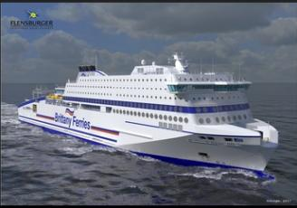 Honfleur Brittany Ferries