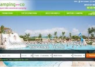 Le site  de Camping and Co propose 1500 destinations dans 10 pays d'Europe.