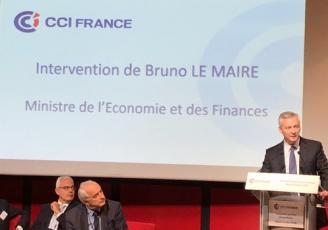 Intervention de Bruno Le Maire ce mardi 10 juillet devants les présidents des CCI réunis en AG extraordianaire