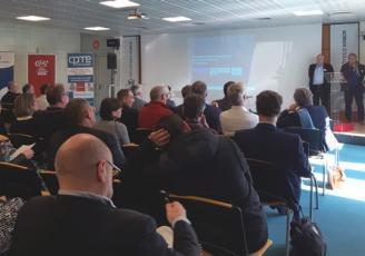 le 25 février, la Chambre des Métiers et de l'Artisanat, la CPME 22, l'UPIA 22 et la CCI Côtes d'Armor organisaient un grand débat des entrepreneurs des Côtes d'Armor