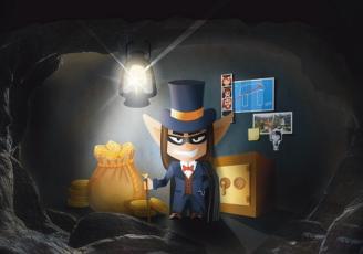 Un nouveau personnage, Darkann, sorte d'Arsène Lupin en version korrigan, vient donner du fil à retordre aux geocacheurs.