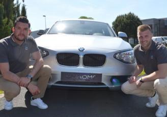 Aurélien Brossay et Jérôme Monnier ont créé, à la Mézière (35), Chrome Consulting, une agence automobile d'un nouveau genre, calquée sur le fonctionnement et les services d'une agence immobilière