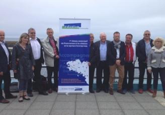 Les membres de l'association Initiative Cornouaille rassemblés hier au Guilvinec