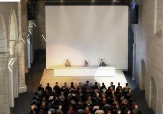 La Nef, auditorium patrimonial  est située dans l'ancienne église du Couvent des Jacobins.