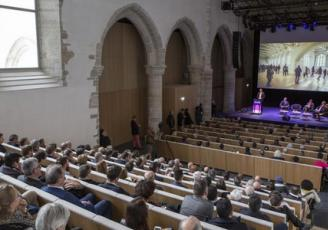 Le Couvent des Jacobins a accueilli en 2018 , à Rennes,  205 événements.