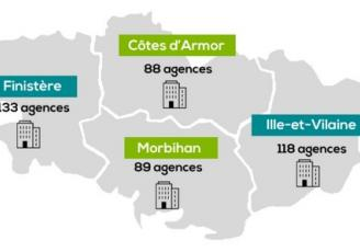 Avec plus de 4 600 collaborateurs et 428 agences sur son territoire, le Crédit Agricole en Bretagne figure parmi les premiers employeurs bretons