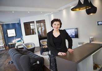 Valérie Renault-Hoarau, directrice générale de l'entreprise familiale Delta Dore