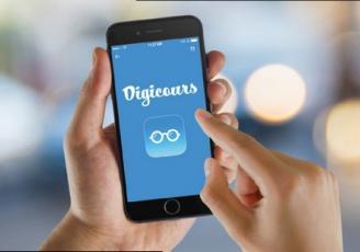 Lancée par deux professeurs Jean-Michel Lavallard et Céline Farineau - l'application Digicours  veut révolutionner  les modes de transmission de la connaissance