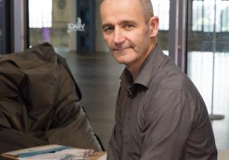 David Pliquet, diriegant fondateur du studio E-mage in 3D
