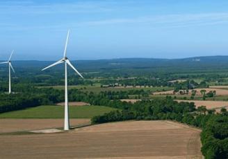 En Bretagne, Enercon  emploie déjà 45 techniciens de maintenance, basés près des parcs éoliens, majoritairement en zones rurales comme ici à  Plélan Le Grand, en Ille-et-Vilaine.