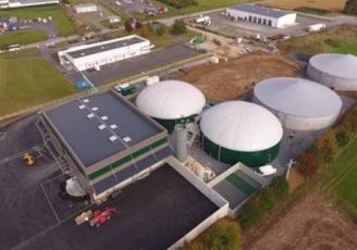 L'installation, construite sur une emprise d'1,8 hectare, est conçue pour valoriser jusqu'à 31 000 tonnes de matière organique par an soit un peu moins de 85 tonnes/jour